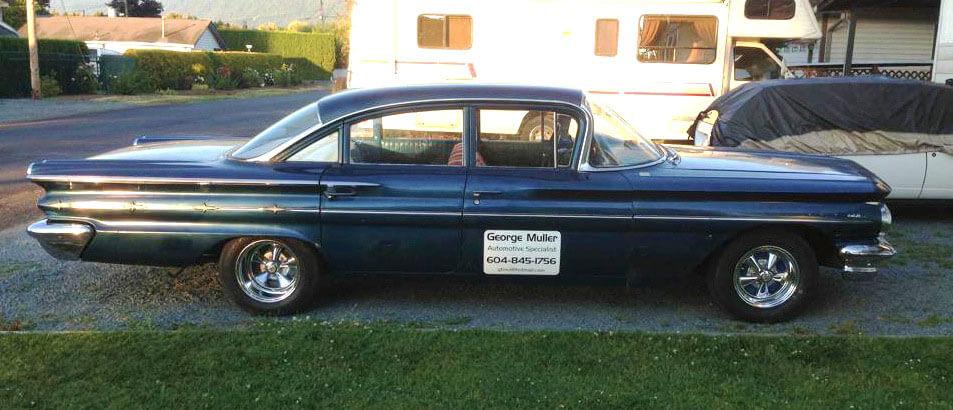 My 1960 Pontiac Laurentian Classic car